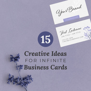 15 Creative Ideas for Infinite Business Cards