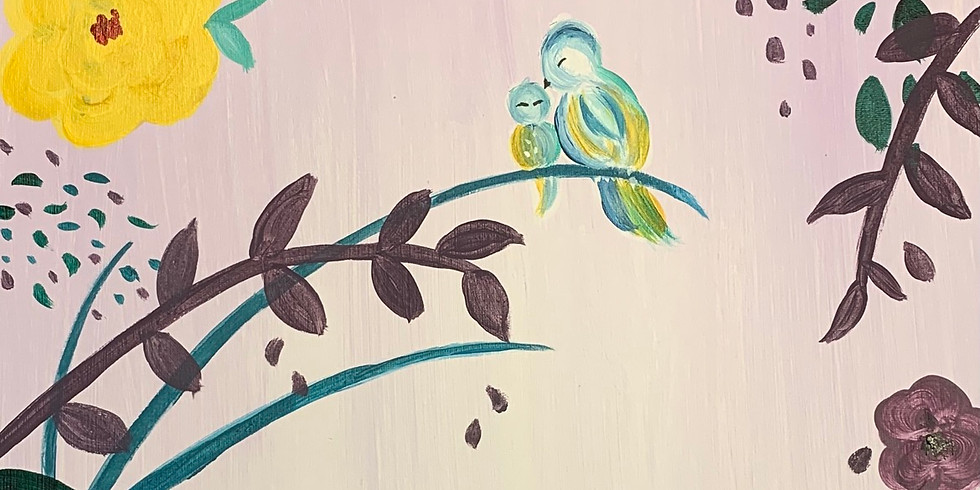 Mother's Day Paint and Sip! 4:30pm