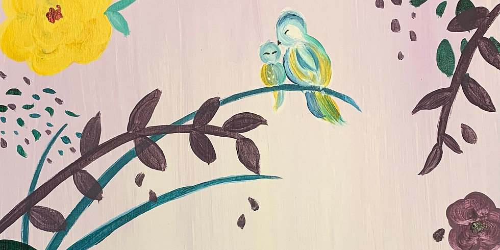 Mothers Day, Paint and Puff 6pm