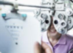 esame degli occhi