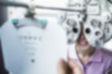 Eye care testing at Marion Eye Center in Marion, OH