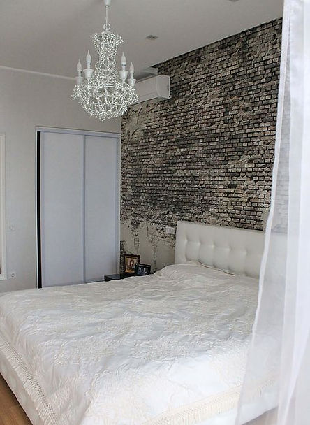 интерьер романтичной спальни