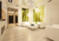 интерьер в современном стиле в жк скайфорт