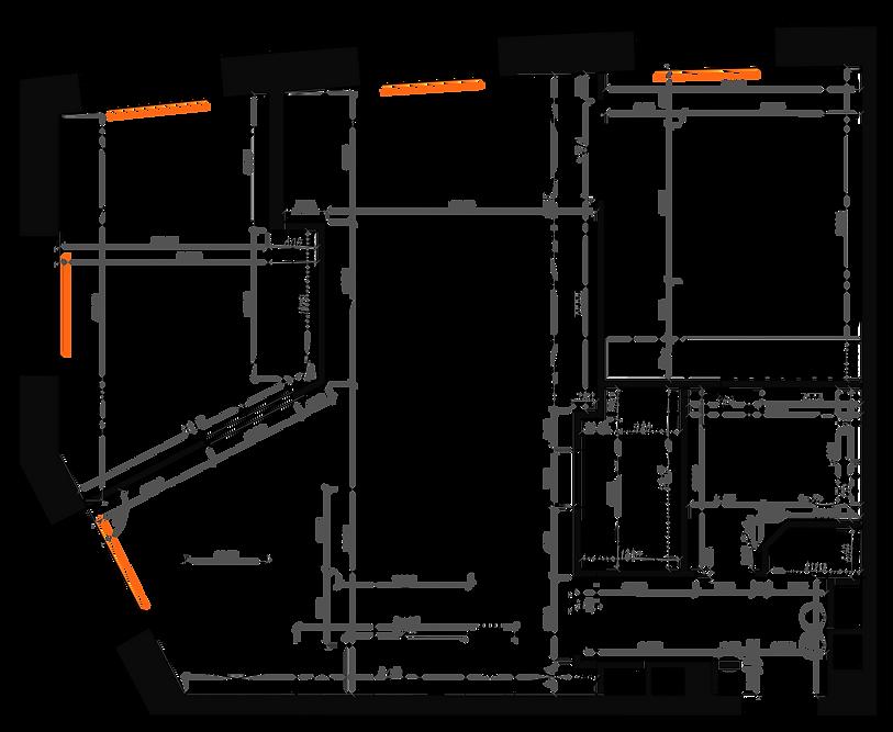 план квартиры в ЖК КРОСТ, перепланировка