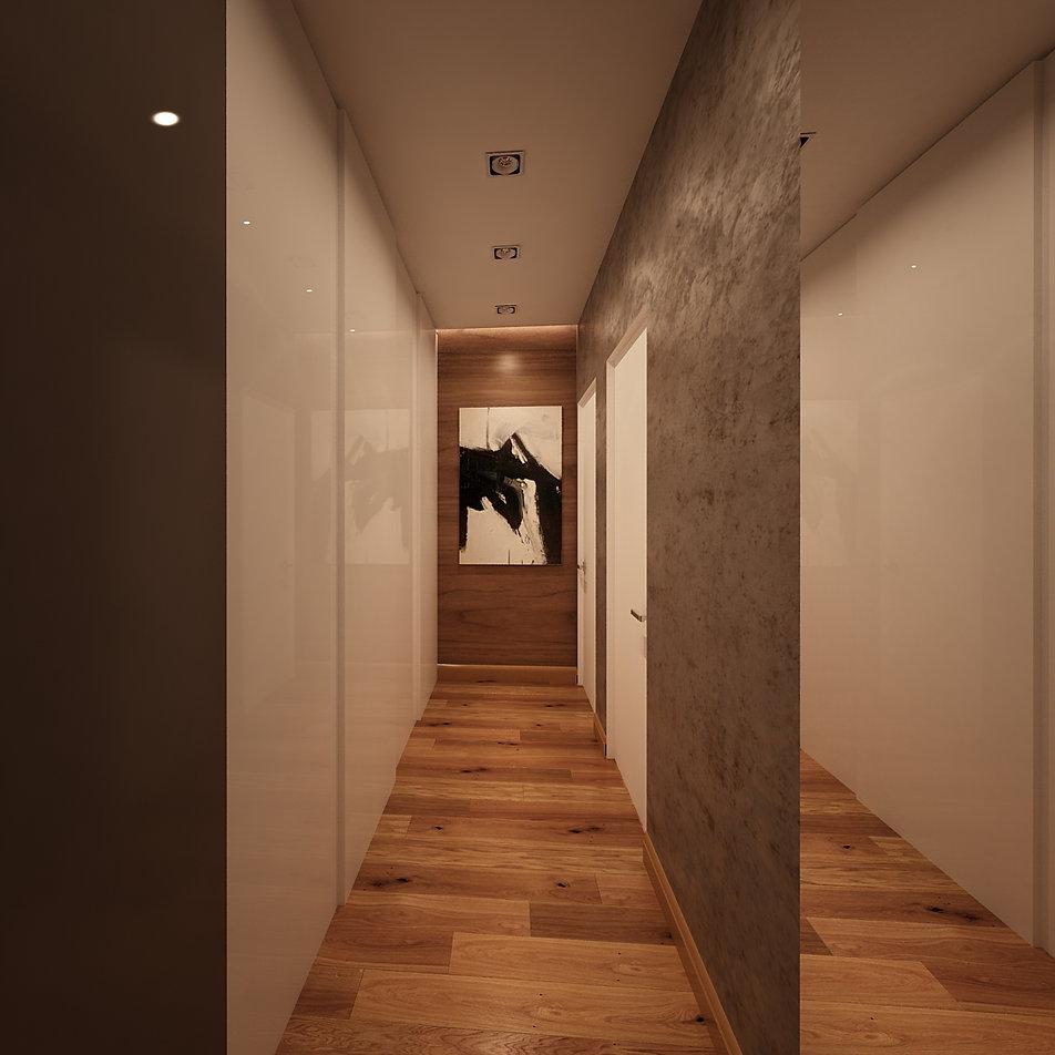 интерьер в современном стиле в бежевых тонах