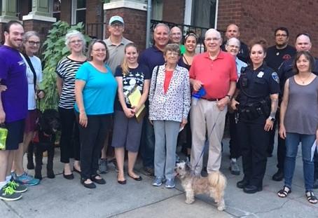 Neighborhood Walk - Tuesday, August 28, 7:30 p.m.