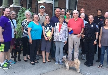 Neighborhood Walk - Tuesday, September 17, 7:30 p.m.