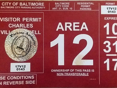 Parking Permit Renewal and Pick-up