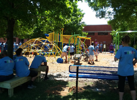 Barclay has a new playground
