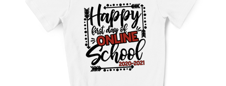 Happy first day of Online School