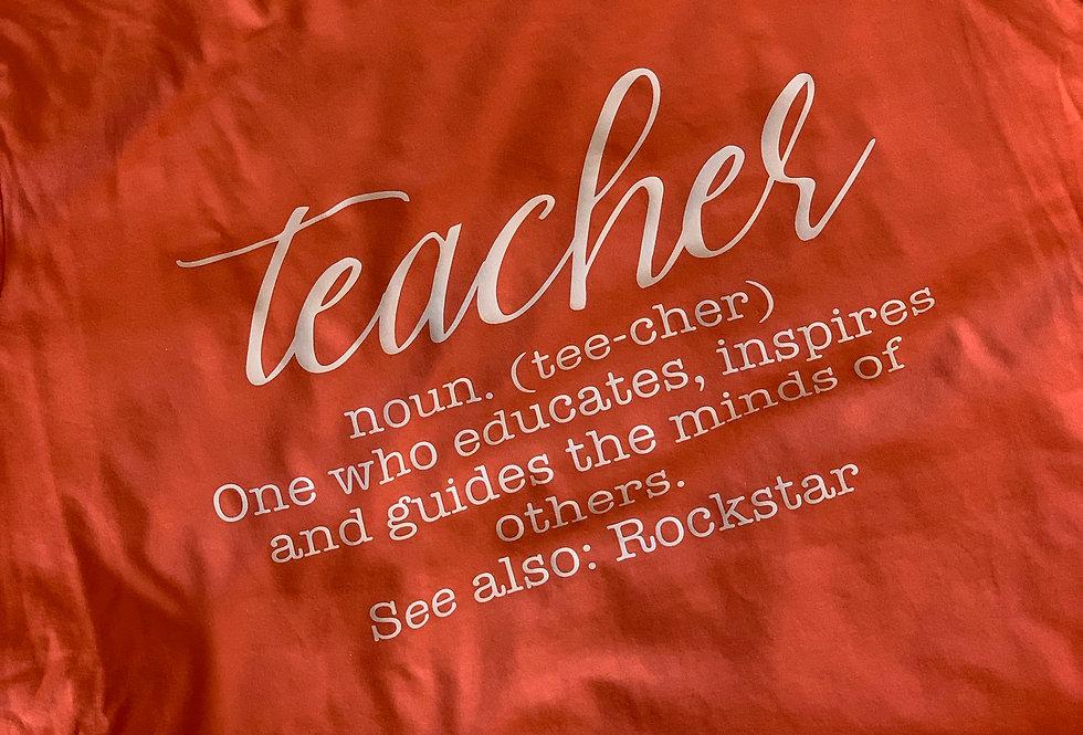 Teacher Meaning T-Shirt