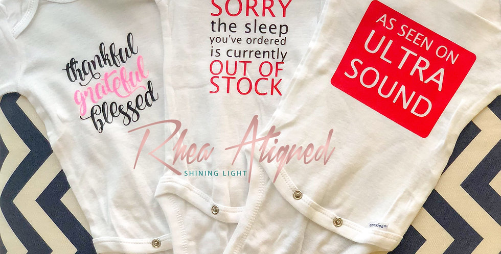 Sorry the Sleep you've Ordered is Out of Stock Onesie
