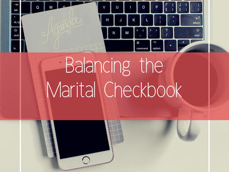 Balancing the Marital Checkbook