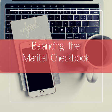 Balancing the Marital Checkbook