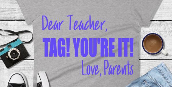 Teacher Tag T-Shirt