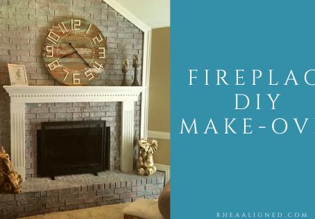 Fireplace DIY Make-Over