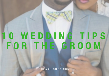 10 Wedding Tips for the Groom