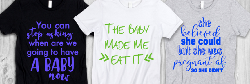 She was Pregnant T-Shirt
