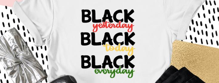 I'm Black When...