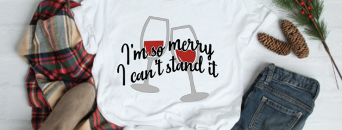 I'm so Merry I can't Stand It