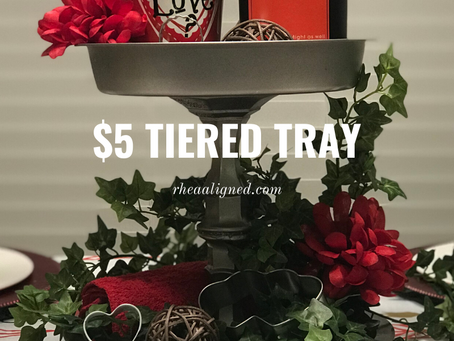 $5 Tiered Tray