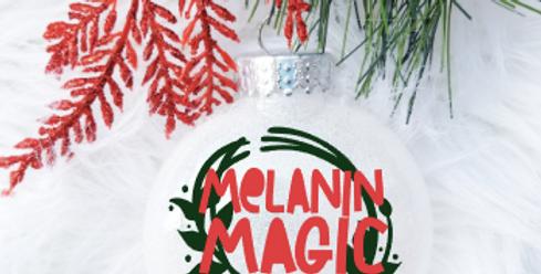 Melanin Magic Ornament