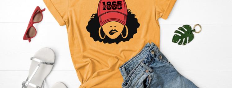 Afro Juneteenth Cap