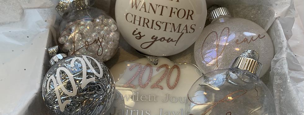 Deluxe Ornament Box 9ct