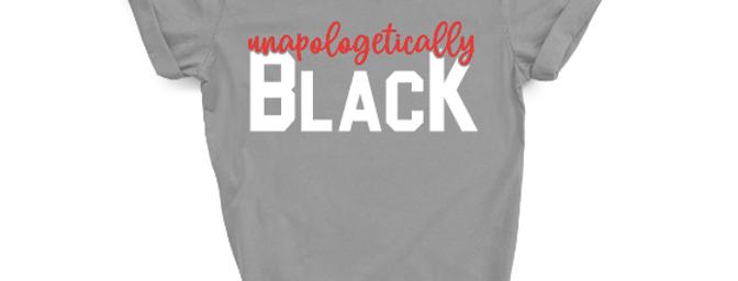 Unapologetically Black-Cursive