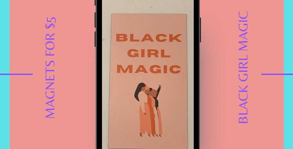 Black Girl Magic Magnets