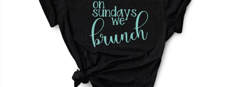 On Sundays we Brunch