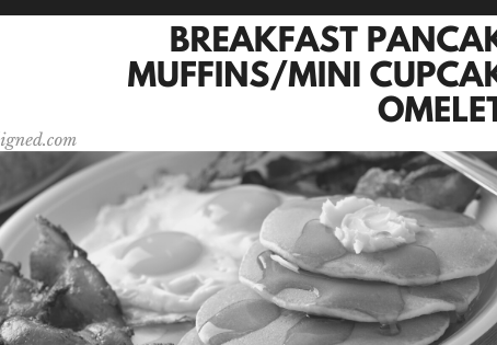 Breakfast Pancake Muffins/Mini Cupcake Omelets