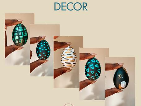 DIY Unique Easter Egg Decor