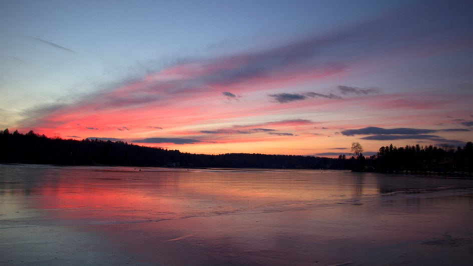 Iced Sunset 1