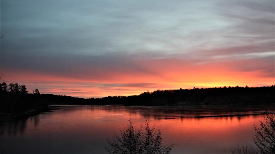 Chanukah Sunset
