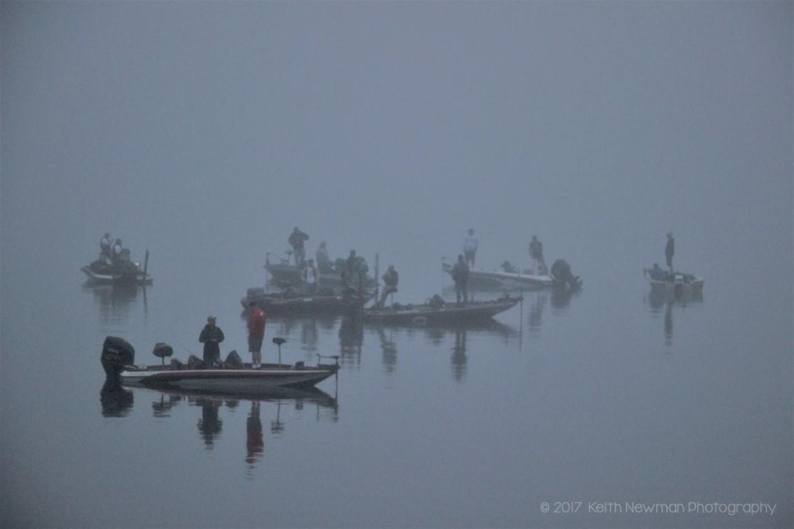 Foggy Fishermen