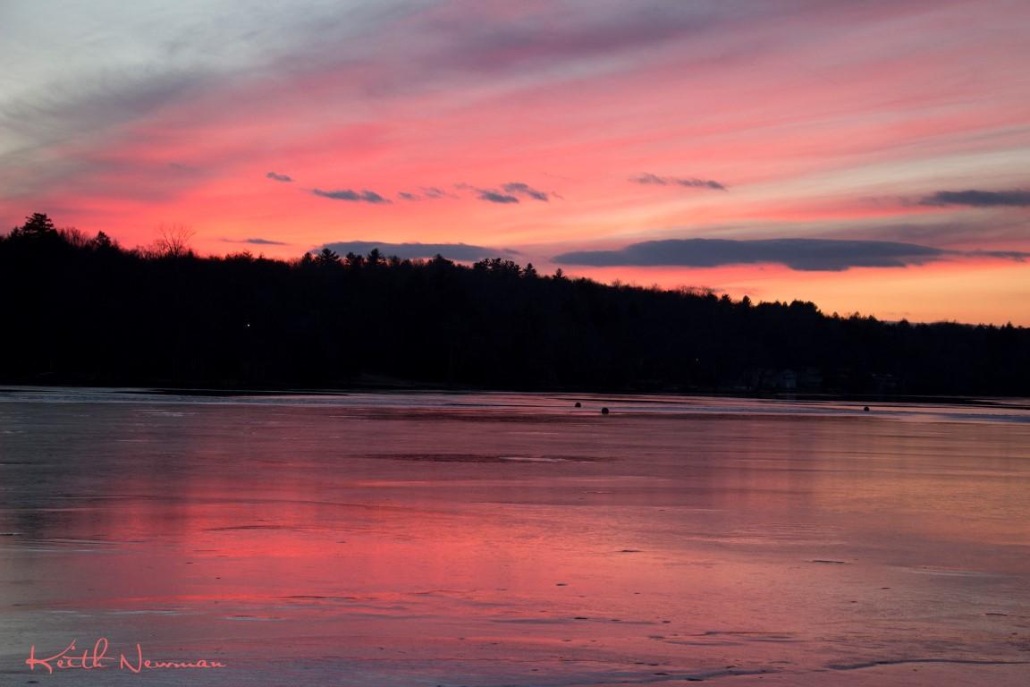 Iced Sunset