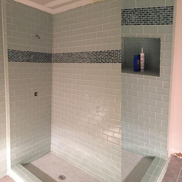 Glass Tile Shower