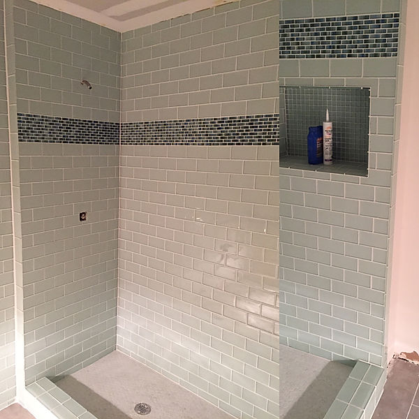 Glass Tile Shower