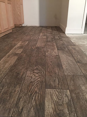 Fauxwood Tile