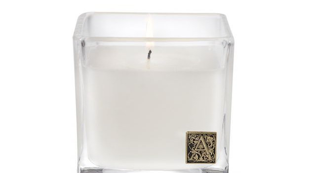 Glass Cube Candle