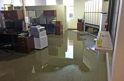 flooded office water removal el paso tx