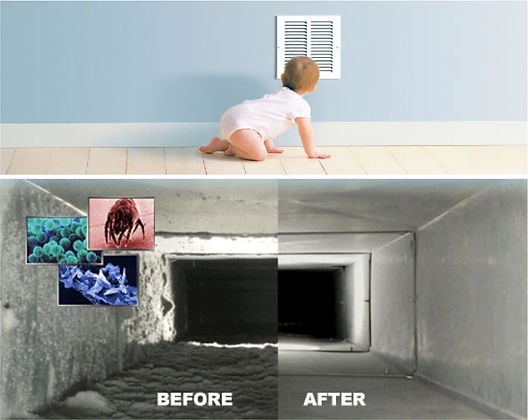 El Paso TX air duct cleaning