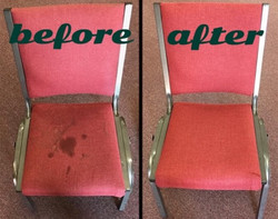 commercial chair cleaning