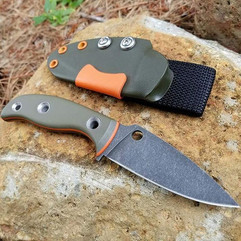 OD Green G10 with Orange Liners