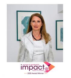 Claudine Beron Awarded Women in Leadership Impact Award