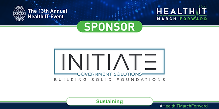 Initiate Gov Solutions_HealthIT2021-Spon