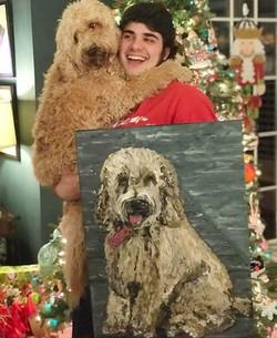 Pet Portrait Customer Satisfaction!
