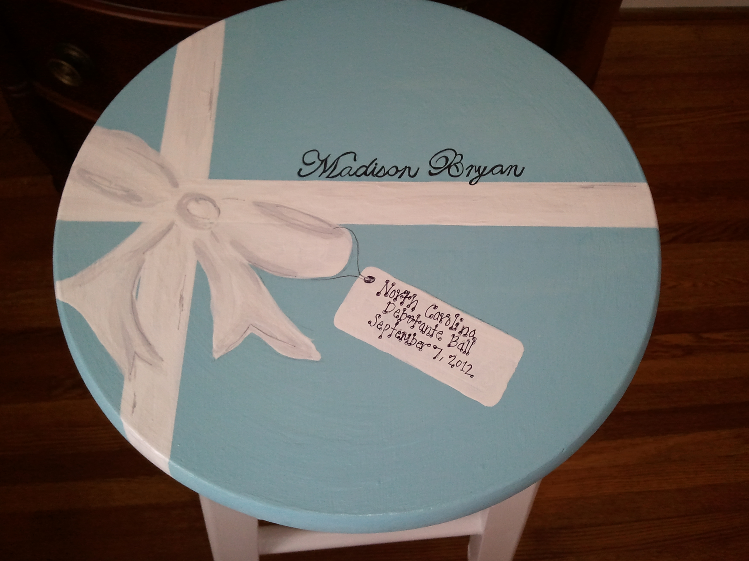 Debutante Stool-Tiffany & Co Box