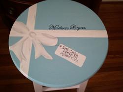 Debutante Stool-Tiffany & Co Box